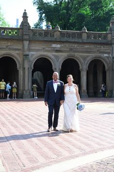 Christine and Alwyn's August Destination Wedding in the Ladies' Pavilion, Central Park, New York August Wedding, Wedding Day, Only Online, Bridesmaid Dresses, Wedding Dresses, Central Park, Pavilion, Wedding Accessories, Got Married