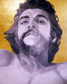 SOLD - Ernesto Che Guevara II 7 October 1967 , Roberto Paulet Ernesto Che, Pencil Drawings, Painting & Drawing, Che Guevara, Saatchi Art, Original Paintings, October, Canvas, Tela
