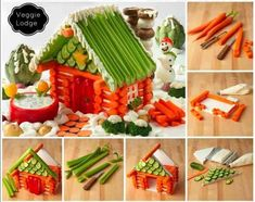 Creative ways to turn your meals and snacks into creative Christmas food art. Whether you are a novice or an expert, you are guaranteed to like these ideas. Christmas Veggie Tray, Fruit Christmas Tree, Christmas Appetizers, Christmas Treats, Christmas Cookies, Christmas Recipes, Christmas Foods, Christmas Breakfast, Holiday Recipes