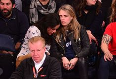 Cara Delevingne And Michelle Rodriguez Went To A Basketball Game, Got Messy Drunk And Made Out A Little - Cosmopolitan.com 19
