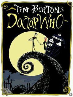 Tim Burton's Doctor Who #fanart