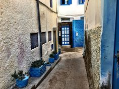 Of Morocco's blue villages one is located next to Agadir. Taghazout is a coastal village where houses are painted blue. When in Agadir you must see this. Banana Beach, Moroccan Blue, Valley Road, Ocean Shores, Seaside Village, Blue Mosque, Paradise Valley, Agadir, Winter Sun