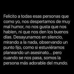 Sad Quotes, Life Quotes, Sarcastic Words, Sad Texts, Love Phrases, Magic Words, Sad Love, Spanish Quotes, It Hurts