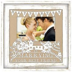 Malden Marrying My Best Friend Picture Frame