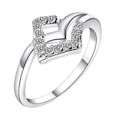 Find More Rings Information about Promotion 49% off Silver Plated Ring CZ Zircon Micro Pave New Bijoux Fashion Korean Rhombus Crystal Rings for Women Bijoux J369,High Quality ring,China crystal pottery Suppliers, Cheap crystal deformation from ULove Fashion Jewelry Store on Aliexpress.com