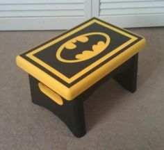 Hand-painted, Made-to-Order Step Stool