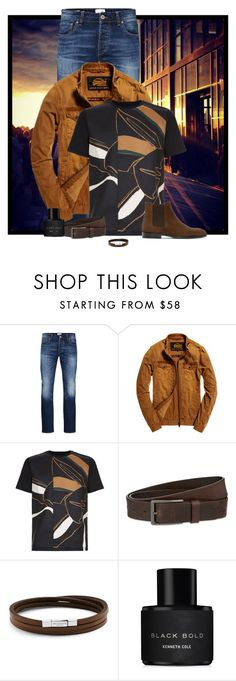 """""""Guys Night Out"""" by cindy-for-fashion ❤ liked on Polyvore featuring Jack & Jones, Superdry, Wooyoungmi, HUGO, Tateossian, Kenneth Cole, PS Paul Smith, men's fashion and menswear"""