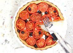 Carmelized Onion and Tomato Tart