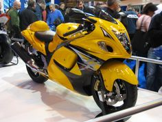 2013 New Color Hayabusa Limited Edition yellow Custom Hayabusa, Viper Gts, Custom Sport Bikes, Suzuki Hayabusa, Suzuki Motorcycle, Mode Of Transport, Sportbikes, Hot Bikes, Expensive Cars