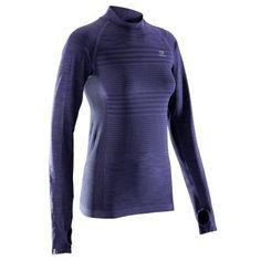 9d7c03ca94555 Kalenji kiprun skincare women s long-sleeved running t-shirt - yellow