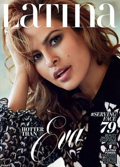 Cover girl: Eva opened up to the magazine for it's September issue, which she covers...