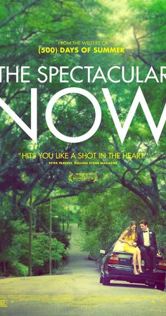 The Spectacular Now (2013) - Why aren't there a thousand more films like this for young actors, raw screen writers, and brave directors? This felt real. Woodley & Teller were so much more than the movie's tagline gives them credit for. Every minor character was rich and purposeful. Rent this immediately. ~ Kim Bongiorno @LetMeStartBySaying