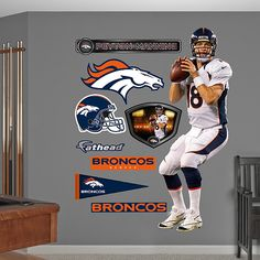 Jackson needs this for his room!! Peyton Manning, Denver Broncos