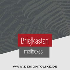 Mailbox, Wrapping, Creative Design, Mail Drop Box, Mail Boxes, Post Box