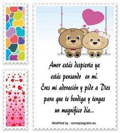 mensajes de texto de buenos dias para mi amor,palabras de buenos dias para mi amor: http://www.consejosgratis.es/increibles-frases-de-buenos-dias-para-mi-novia/