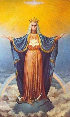 ORACIONES DE LOS SANTOS PARA PETICIONES: ORACION A LA VIRGEN MARIA PARA ALEJAR, VENCER Y DO...