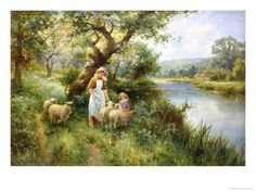 Friendly Greeting Giclee Print by Ernest Walbourn at AllPosters.com