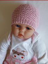 Knitting pattern for a textured stitch baby beanie. Knitted Baby Beanies, Knit Beanie Pattern, Knitting For Charity, Romper Pants, Baby Size, Baby Knitting Patterns, Doll Clothes, Sweaters For Women, Winter Hats
