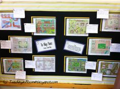 Colonial Village: Upping the Worksheet Rigor