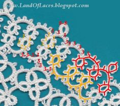 Land Of Laces: 4 and 5 row of heart doily - correct version