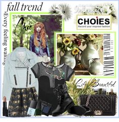 """""""CHIC Fall Trends with CHOIES"""" by fashiontake-out on Polyvore"""