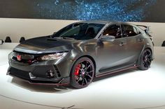 New Honda Civic Type-R prototype official - pictures - http://carparse.co.uk/2016/09/29/new-honda-civic-type-r-prototype-official-pictures/