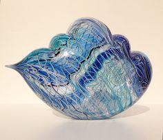 NANCY CALLAN   Glass Sculpture by Nancy Callan at Schantz Galleries