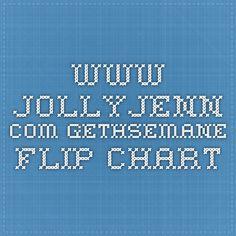www.jollyjenn.com Gethsemane Flip Chart