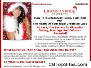UKRAINIAN BRIDE SECRETS - best selling ebook on ukrainian brides, ukrainian dating, ukrainian women for marriage, ukrainian ladies, women fo...