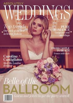 Here's one of our latest interviews in the Wedding Journal featuring Caroline Castigliano giving advice on the brand, bridal style and of Caroline Castigliano, Ballroom Gowns, Fall Winter, Autumn, Get The Party Started, Bridal Style, Fall Wedding, Real Weddings, Pure Products
