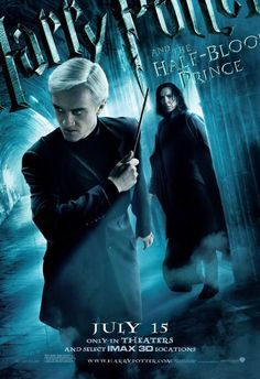 Still of Alan Rickman and Tom Felton in Harry Potter and the Half-Blood Prince (2009)