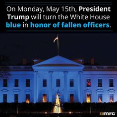 """""""AWESOME....ABSOLUTELY AWESOME"""".....GOD BLESS OUR MEN AND WOMEN IN BLUE Thank you President Trump for honoring them in this way!"""