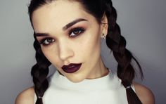 Modern Grunge makeup tutorial - YouTube