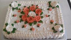 Bolo Rosas - Bolo de Aniversário