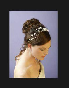 Wedding hair jewellery