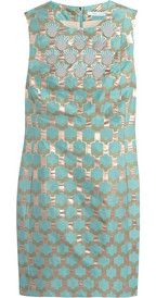 Diane von Furstenberg Akoni paillette and bead-embellished jacquard dress