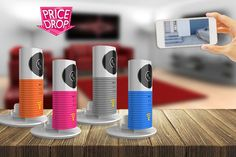 Smartphone Controlled CCTV Camera - 4 Colours!