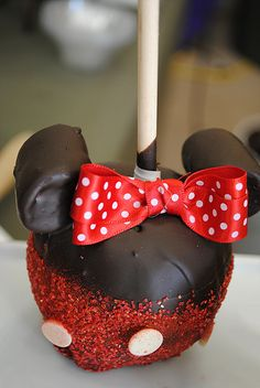 Chocolate apple-mini mouse