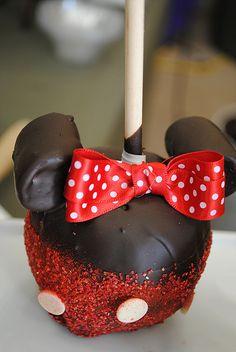 Chocolate apple-mini mouse