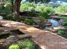 New Landscaping Backyard Texas Water Features 25 Ideas Houston Landscaping, River Rock Landscaping, Water Wise Landscaping, Landscaping Shrubs, Small Yard Landscaping, Landscaping With Rocks, Landscaping Ideas, Patio Ideas, Outdoor Ideas