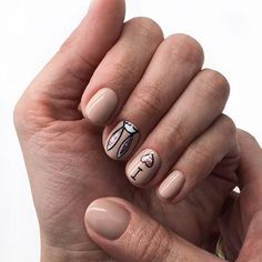 Manucure moderne lapin, modele d ongle en gel, ongle gel, couleur ongle original, tendance vernis 2018 Trendy Nails, Cute Nails, My Nails, Gel Nail Art, Acrylic Nails, Nail Polish, Short Nail Designs, Nail Art Designs, Design Ongles Courts