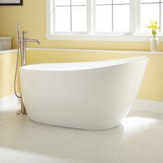 Gena Acrylic Freestanding Tub - Freestanding Tubs - Bathtubs - Bathroom
