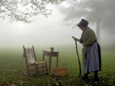 Amish - This reminds me of my grandmother with her sunbonnet (not Amish).