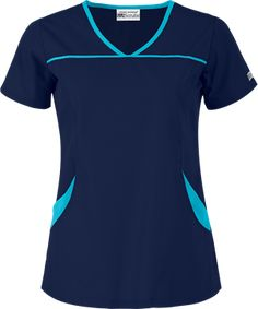 UA Best Buy Scrubs Women's 4-Pocket Princess Seam Top, Fashion Scrubs