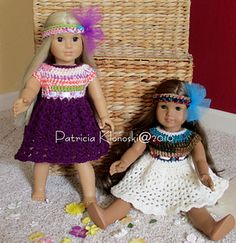 This pattern is for an American Girl doll or similar 18 inch doll. The I Love This Yarn brand is super soft and has great texture and stretch, the perfect combination for doll clothes!