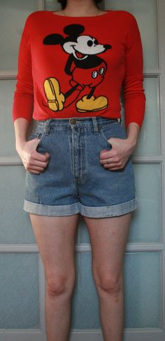 2d25669146c Item  Highwaist denim shorts Denim Shorts