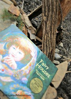 Have your kids ever made a Fairy House?    Kids Fairy Play and Books - #kids #play at B-InspiredMama.com