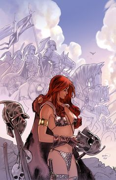 Red Sonja •Paul Renaud