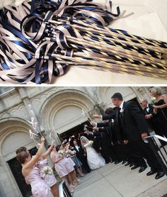 100 wedding ribbon wands ivory and toffee with metallic gold frayed ribbon wands for weddings instead of throwing something and making a mess brilliant solutioingenieria Gallery