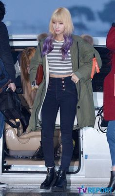 Twice momo Airport fashion